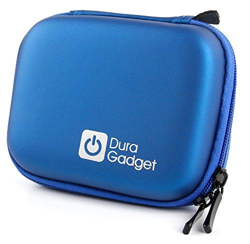 Blaue Transport-Tasche (Hard Case) für POLAROID Snap und Snap Touch Sofortbild Kameras