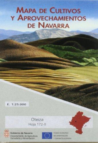 Oteiza. mapa de cultivos y aprovechamientos de Navarra