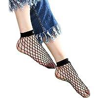 ITISME Socken Frauen Rüschen Fischnetz Knöchel hohe Socken Mesh Lace Fisch Net Kurze Socken