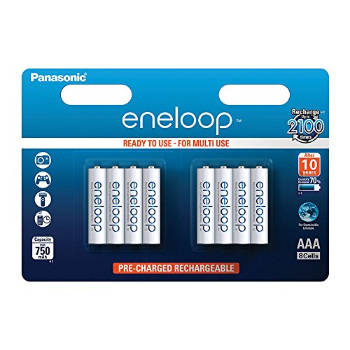 Panasonic eneloop Ready To Use Ni-MH batteria ricaricabile