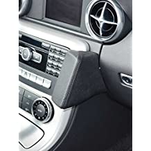 Kuda–Consola de teléfono para (LHD) para Mercedes Benz SLK AB03/2011/piel sintética NEGRO