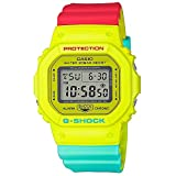 G-Shock by Casio Unisex Digital DW5600CMA-9 Special Color Models Watch Yellow