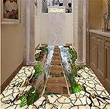 GBHL 3d Klippen Flyover Bergtal Bodenbelag aisle 3D-Stereo-Wohnzimmer Einkaufszentrum Hotel Malerei Boden, 200x140 cm (78,7 nach 55,1 in)