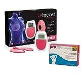 U-Breast + Procurves Plus: Elektrostimulationsgerät und Tabletten zur Brustvergrößerung und Straffung