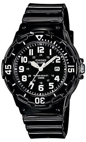 Casio Collection – Damen-Armbanduhr mit Analog-Display und Resin-Armband – LRW-200H-1BVEF