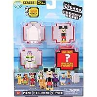 Disney Crossy Roads Mini Figure 4 Pack