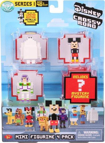 Disney Crossy Straßen 71001-Mini Figuren (4Stück)
