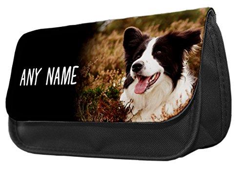 personalizzato-cane-border-collie-make-up-borsa-astuccio