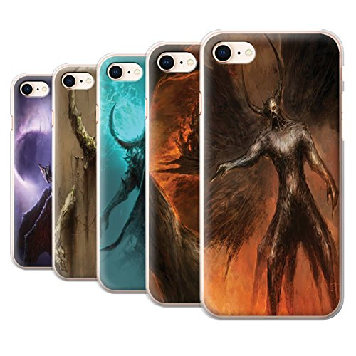 Offiziell Chris Cold Hülle / Case für Apple iPhone 8 / Geist/Ghul Muster / Dunkle Kunst Dämon Kollektion Pack 10pcs