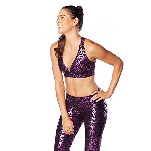 Zumba Fitness Damen WT Bra Find Your Shine V Fuchsia