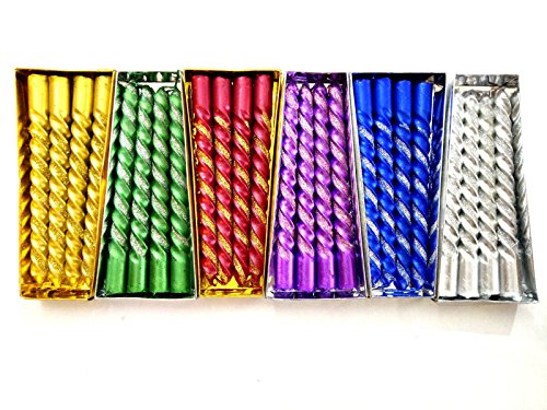 Amazon Great India Sale : FESTSELL Wholesale Cost 12-Metallic Colors Shinning Candles...
