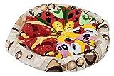 Rainbow Socks - Pizza MIX Végétarienne Capriciosa Peppéroni Femme Homme - 4 Paires Chaussettes - Taille UE: 41-46