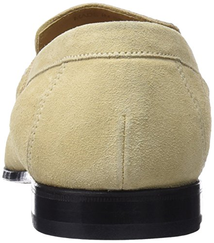 Lottusse L6957, Mocassins (Loafer) Homme Ivoire (Camoscio Natural)
