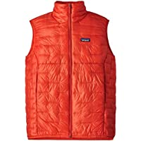 Patagonia Micro Puff Chaleco, Hombre, Rojo (Paintbrush Red), S
