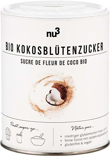 nu3 Sucre de Fleur de Coco Bio sans Gluten 200 g