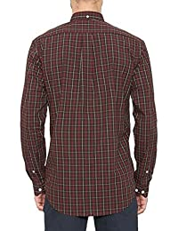 1e827b0a798d Farah Mens Pure Cotton Button Down Collar LS Check Shirt (Bullow) in Size  2XL
