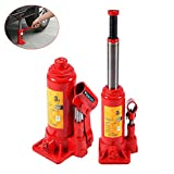 Bottle Jack, Heavy Duty 3 Tonne Hydraulic Bottle Jack Steel Lifting Jack