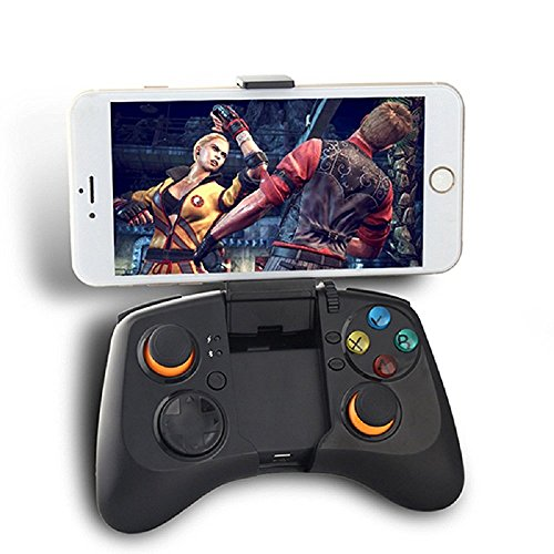 STOGA Version Wireless Motor? Ihre Spiel-Bluetooth Joysticks Gamepad für PC (Windows XP/7/8/8.1) und Android und PS3 - Schwarz (360 Xbox Angry Birds)