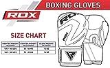 RDX Boxhandschuhe Muay Thai Boxsack Kickboxen Training Sparring Sandsack Maya Hide Leder Boxing Gloves - 4