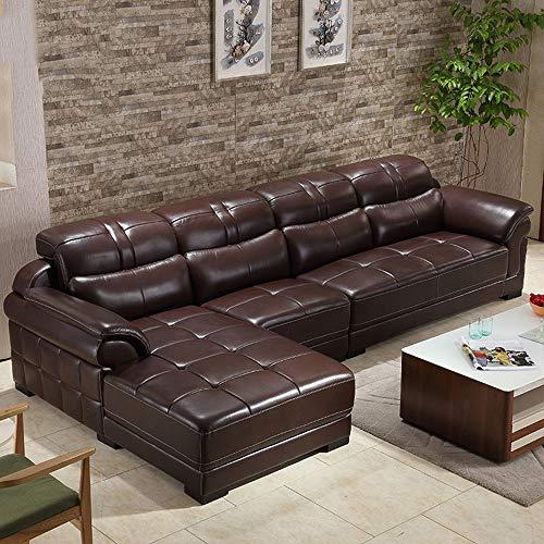 WSN Rinconera sofá,Sofá de Esquina Multifuncional Grande Sofá de Tela Mano Izquierda...