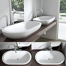Suchergebnis auf Amazon.de für: aufsatzwaschbecken oval   {Aufsatzwaschbecken gäste wc oval 24}