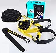 Trekkoord fitness mannelijke kracht training been thuis apparatuur vrouwelijke anti-breken trx opknoping training riem
