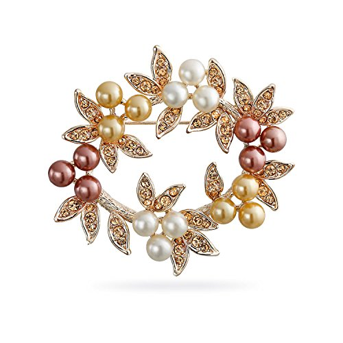 bling-jewelry-cadeaux-pearl-crystal-noel-nuptiale-gerbe-rose-broche-plaque-or