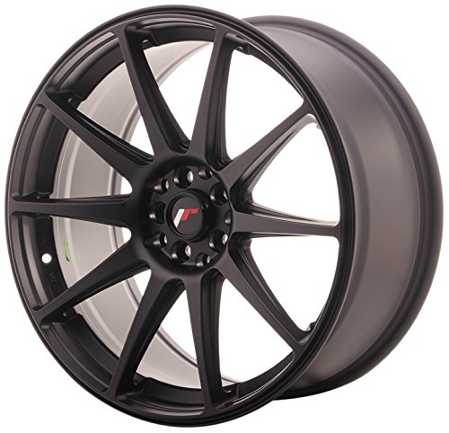 JAPAN Racing JR11 Matt Black 8.5 x 19 eT35 5 x 100/120 jantes en alliage