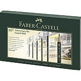 Faber-Castell A.W. 119091 - Geschenkset Castell 9000 mit Radierer und Spitzer