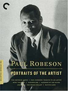Criterion Collection: Paul Robeson: Portraits of [Import USA Zone 1]