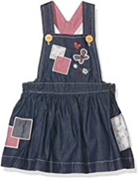 Pumpkin Patch Baby Girls' Patchwork Denim Pinnie Dress