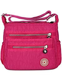 Amazon.co.uk  Pink - Cross-Body Bags   Women s Handbags  Shoes   Bags 622b474717c0