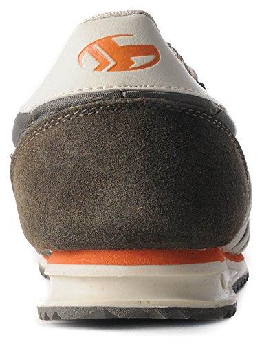 Boras, baskets mixte-kaki-nylon 1231138/37 - Grüntöne