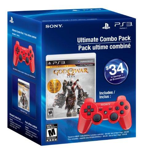 God of War Saga Ultimate Combo Pack PS3 US