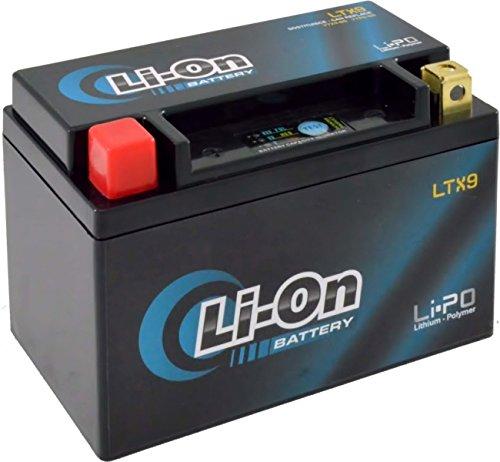 MIM Distribution Batteria Litio LI-ON YTX9-BS Honda NX Dominator (RD02/RD08) 650 1988-2002 12V 8 Ah