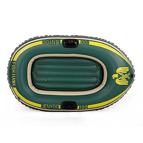 YUAN JIAN-Kayaks Barco De Goma, Barco De Pesca Inflable, Canoa, Barco De Asalto, Solo, Barco De Juguete, Anillo De La...