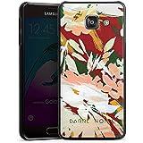 Samsung Galaxy A3 (2016) Housse Étui Protection Coque Fleurs Fleurs Motif