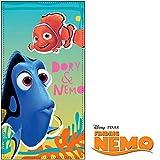 Disney Pixar Findet Nemo & Dori Velour Strandlaken 'Fun&Sea' Blau
