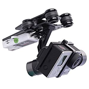 Walkera G-2D 3 axes Brushless cardan pour iLook / GoPro Hero 3 3+ 4 / QR X350 Pro OS117