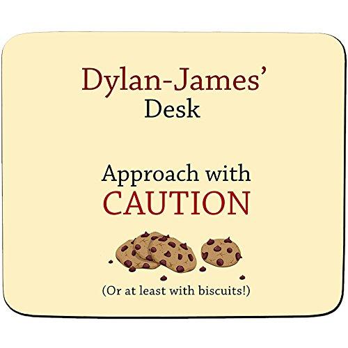 atz mit Vorsicht-oder zumindest mit Cookies!-Premium-Mauspad, personalisierbar 5 mm dick ()