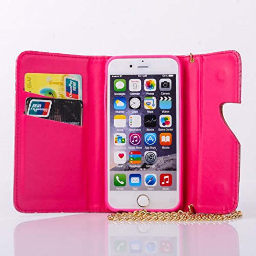 """inShang iPhone 6 iPhone 6S Coque 4.7"""" (Both 2014 Sep and 2015 Sep Release) Housse de Protection Etui pour Apple iPhone 6 iPhone 6S 4.7 Inch, le style sac a main, Cuir PU de premiere qualite, + Qualite High-heeled shoes red"""