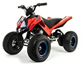 INJUSA - Quad Bateria X-Treme Hunter 24 V Luci, Suspension, Freni a Disco, Multicolore, 6024