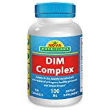 Best Naturals Dims - Nova Nutritions DIM Complex 100 mg 120 Capsules Review