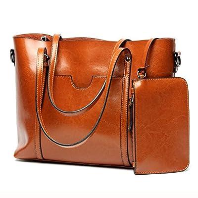 UGOOO PU cuir sac à main + épaule de sac de femmes de la mode + porte-monnaie + carte 2pcs mis