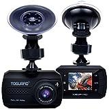 TOGUARD Mini Full HD 1080P Cámara De Coche, Dash Cam Gran Ángulo DASHCAM , G-sensor, Registro Continuo - Tarjeta Micro SD No Incluida En El Paquete