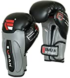 Guantes de boxeo de cuero Maya EMRAH Gel guantes de boxeo, guantes de boxeo Training Muay Thai F9