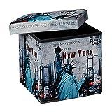 Relaxdays-Tabouret-pliant-coffre-de-rangement-pliable-banc-de-stockage-avec-couvercle-amovible-38-x-38-x-38-cm-pouf-en-similicuir-repose-pieds-table-appoint-motifs-tendances-New-York