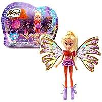 Winx Club - Sirenix Mini Magic - Stella Doll with Transformation