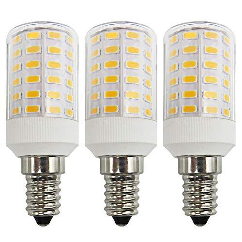 LED Mais Glühbirne E14 7W 100W Kerze Wandlampe Super Hell Birne Warmesweiß 3000K Nicht Dimmbar Maiskolben Kleine Edison-Schraube Lampe, 3er Pack [MEHRWEG] - Edison Schraube Lampe