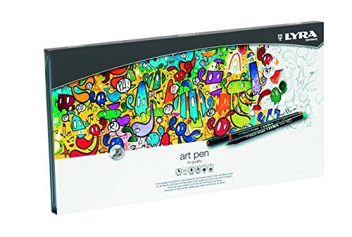 lyra-hi-quality-art-pen-estuche-metalico-50-rotuladores-artisticos-acuarelables-de-colores-efectos-d